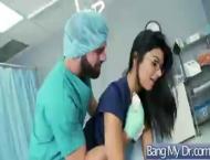 Sexy nurse had been fucked hard