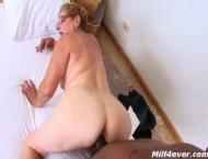 Brazilian granny wants to taste black cock