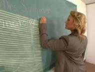 Busty Teacher fucks BBC Student