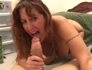 BBW MILF gets fucked in the ass