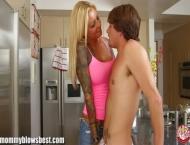 MommyBB My stepmom sucked my BF's dick!