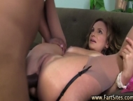 Interracial cougar loves big cock
