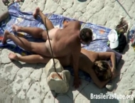 Casal Fazendo Sexo na Praia